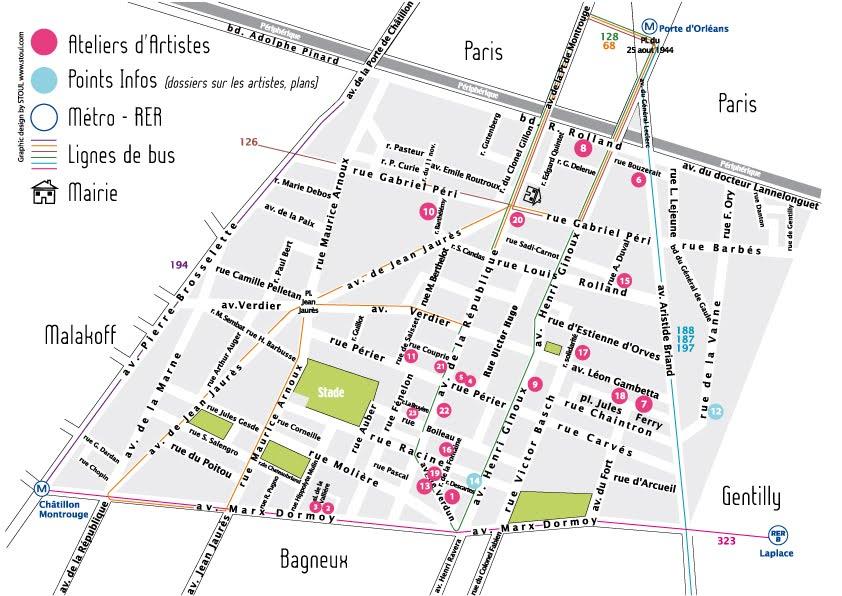plan de montrouge - Image