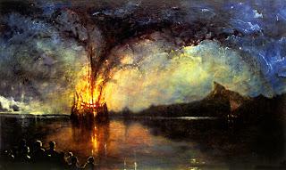 HMS Bounty set a light on Pitcairns