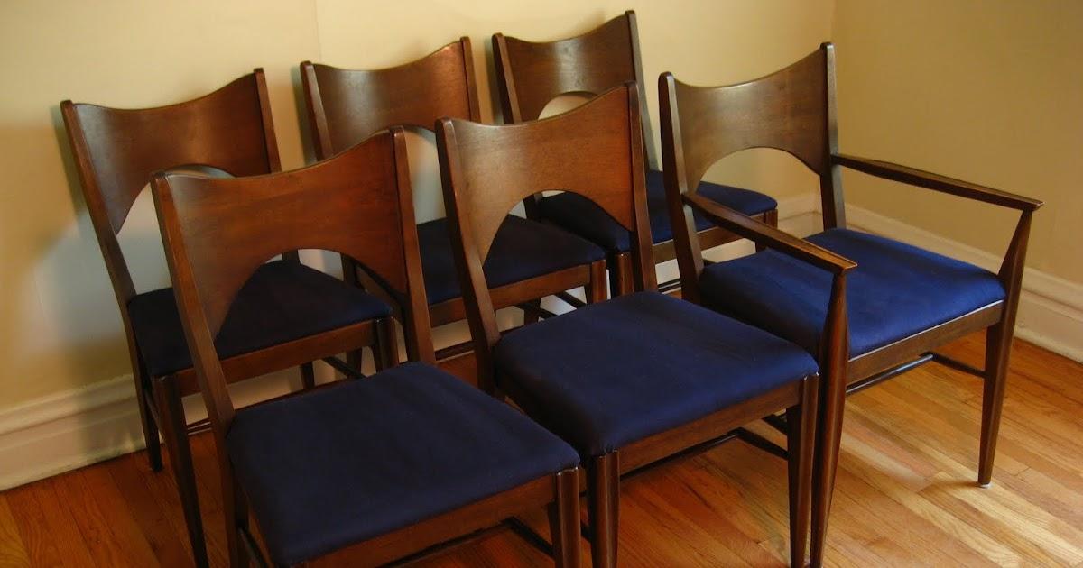 Flatout Design Mid Century Modern Dining Chairs