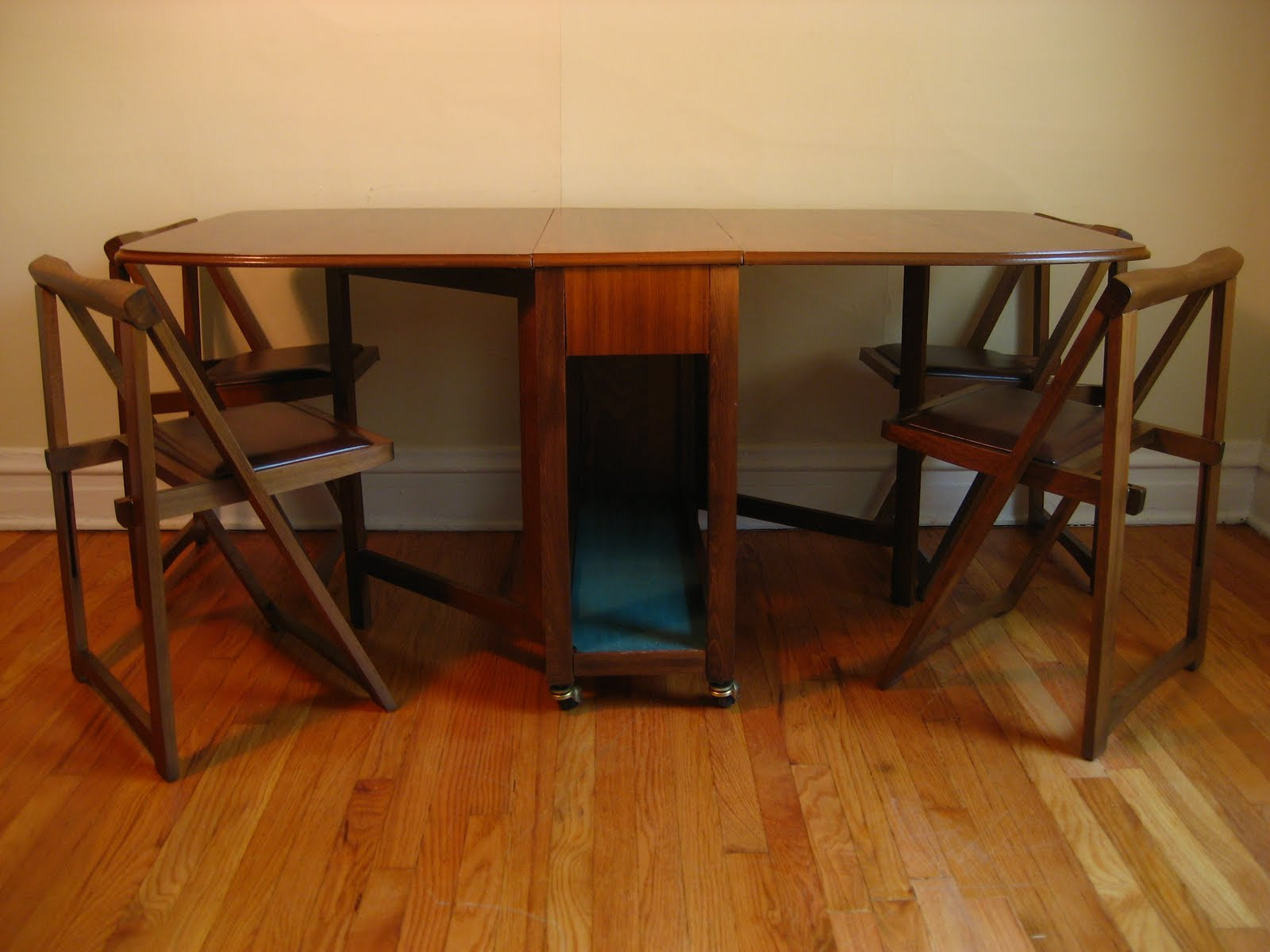 Dining Table Self Storing Dining Table