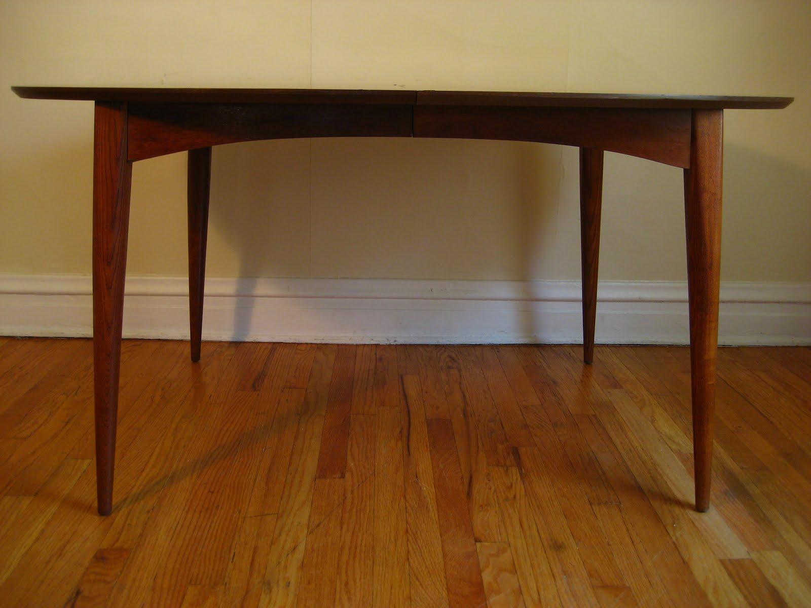 Flatout Design Mid Century Modern Dining Table