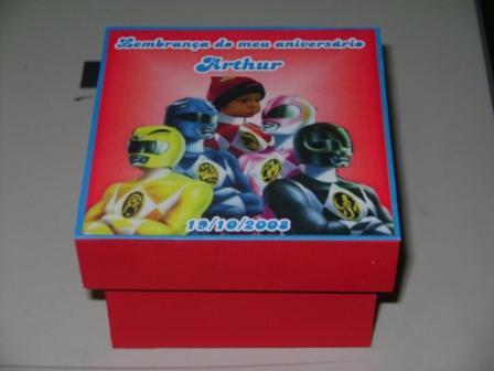 caixa power ranger