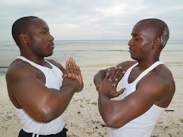 Combate Karate . Dimbani Playa