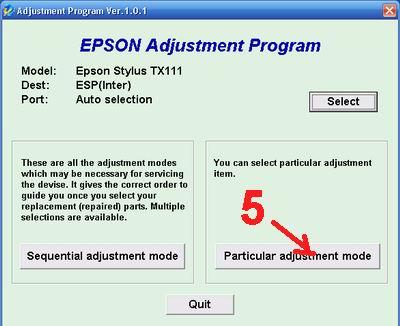 cara mereset epson tx110-tx111 blink berkedip error - cara service epsont tx error 4