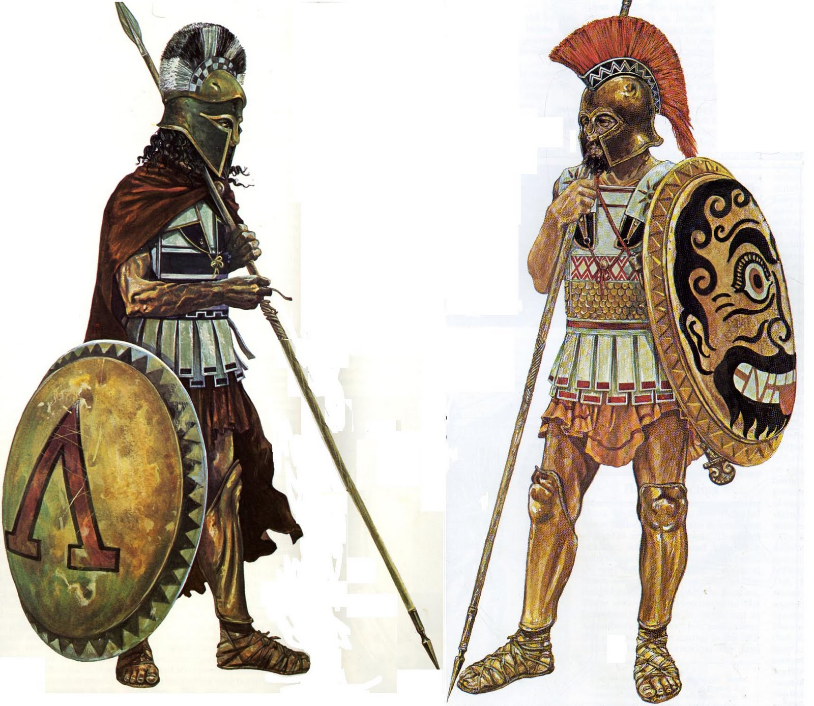 Ancient+greek+armor+and+weapons