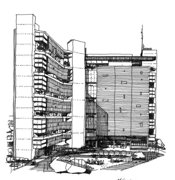 Dibujos de arquitecto architect drawings segun el - Trabajo arquitecto barcelona ...