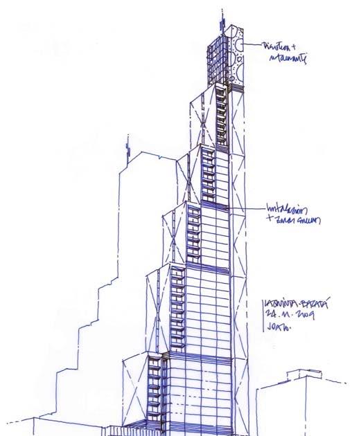 Dibujos de arquitecto architect drawings complejo la - Trabajo arquitecto barcelona ...