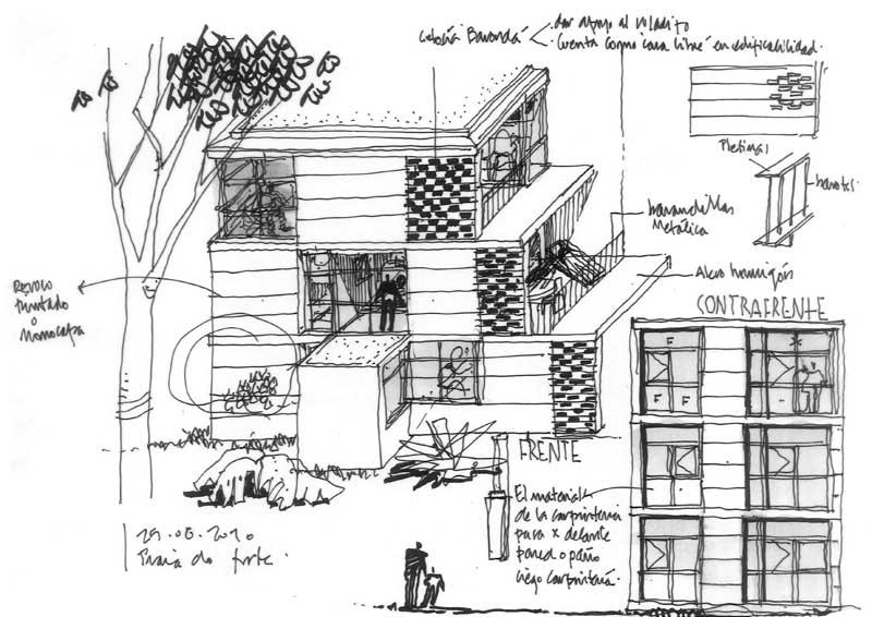 Dibujos de arquitecto architect drawings 100825 - Trabajo arquitecto barcelona ...