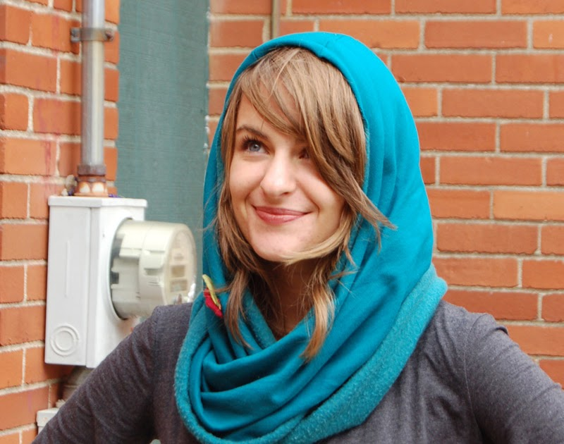 Sew To Speak Quick And Simple Hooded Tube Scarf