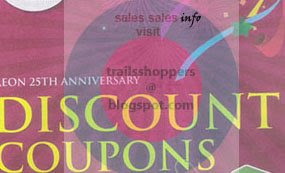 Jusco 25 Anniversary Discount