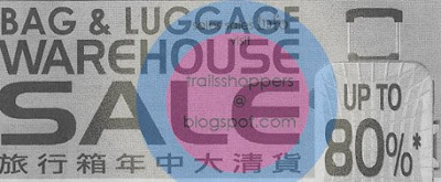 Bag & Luggage Warehouse Sale
