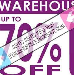 Cosmetics Warehouse Sale