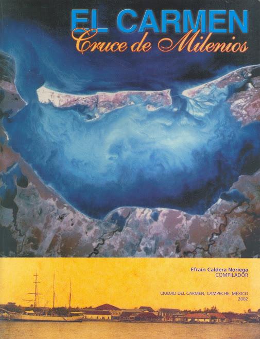 vista satelital laguna de terminos e isla del Carmen, Campeche