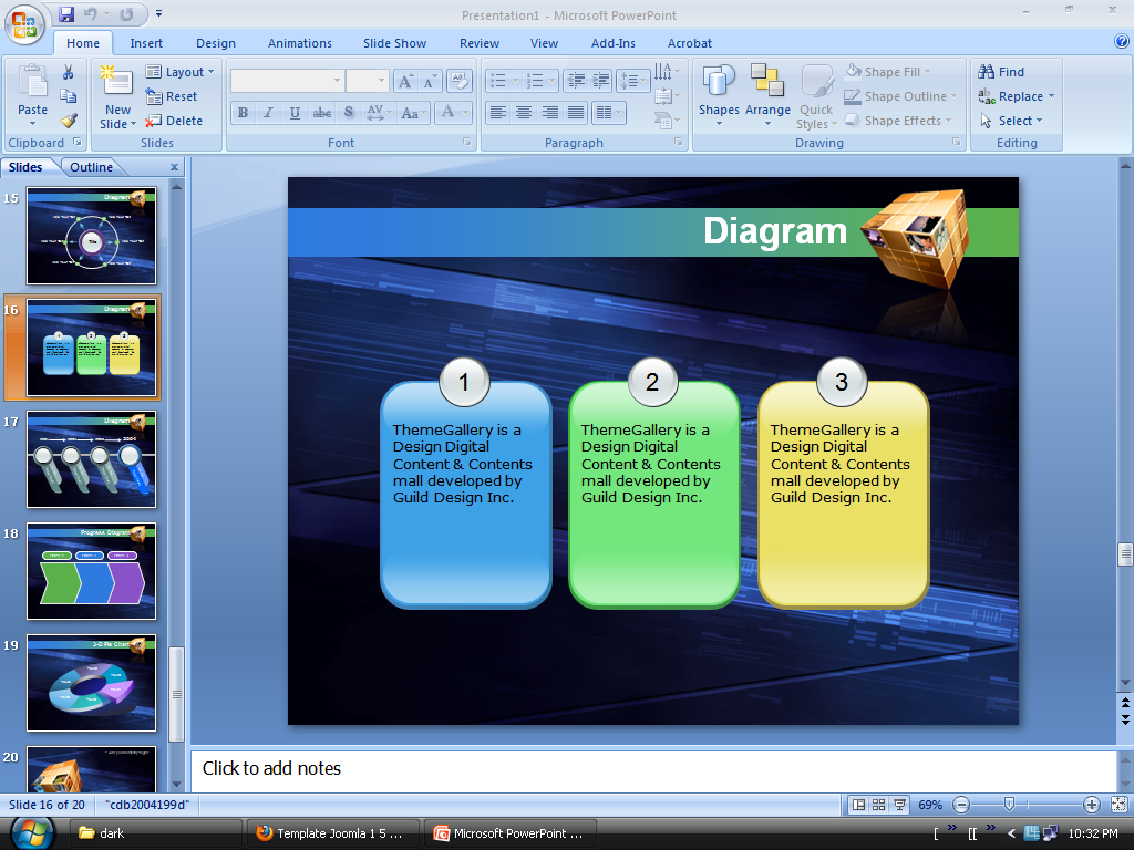 Free Download Powerpoint Templates 2007