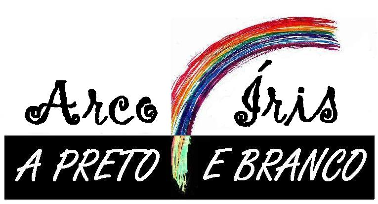 Arco íris a preto e branco