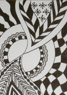 ink zentangle