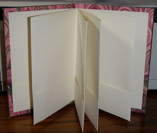 How To Make An Accordion Book With Pockets From An Antique Book