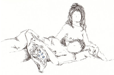 dr sketchy nude drawing