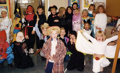 kindergarten Halloween party
