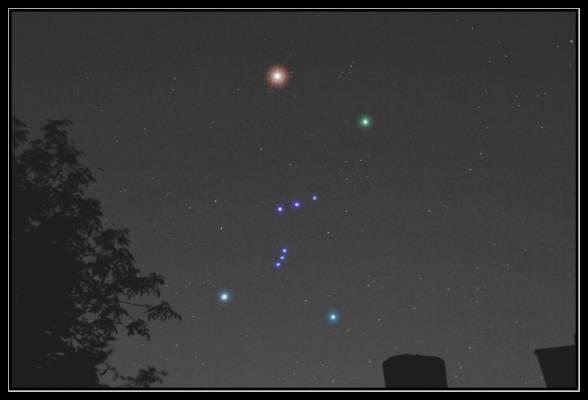 созвездие орион на небе чему