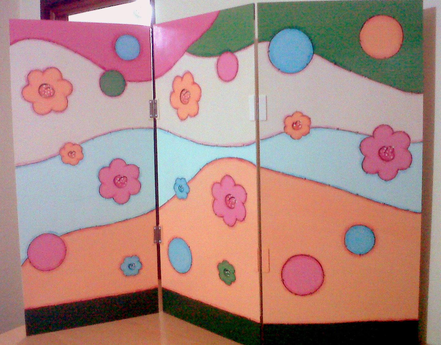 In dito para el colegio tricolor - Biombos para decorar ...