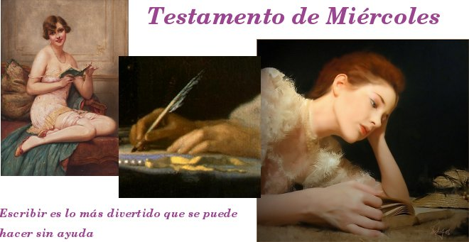 Testamento de Mircoles