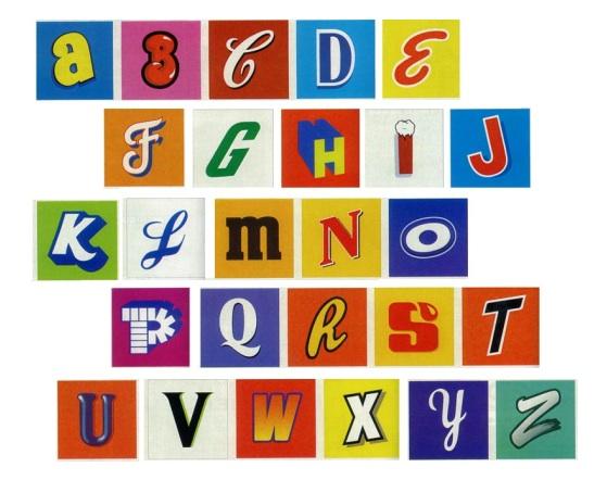 comment afficher l alphabet en c