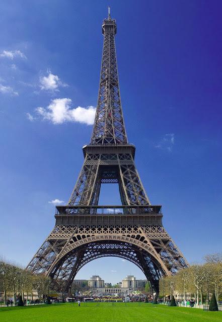 Paris France pictures of famous monuments, Eiffel-tower