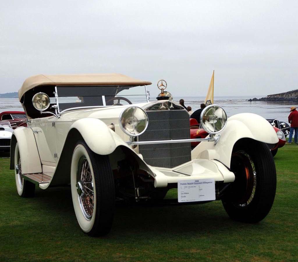 Your old car 1929 mercedes benz model s for Mercedes benz old models