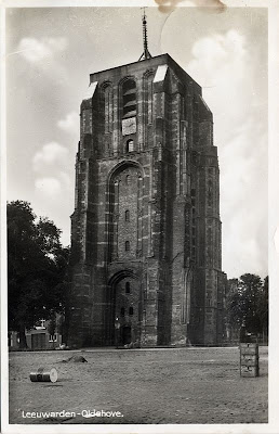 Church Sunday postcard: Oldehove, Leeuwarden, Friesland