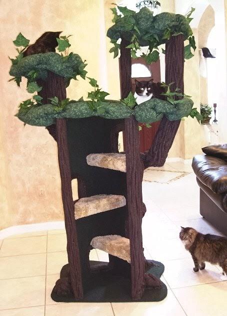 Spot S Corner Hidden Hollow Cat Trees