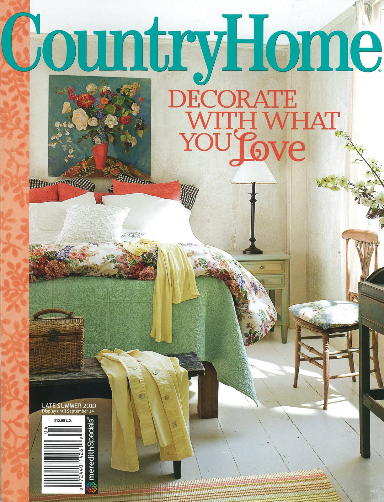 Bricolage new country home magazine and a plan b for Home magazines