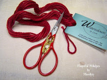 Beautiful Christmas Scissors