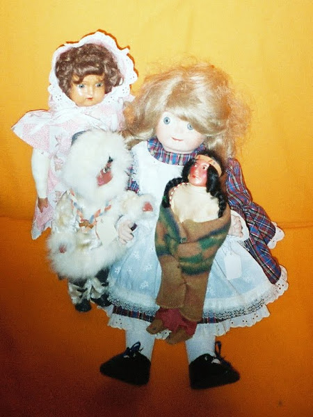 Dolls Restored ad New to the Museum