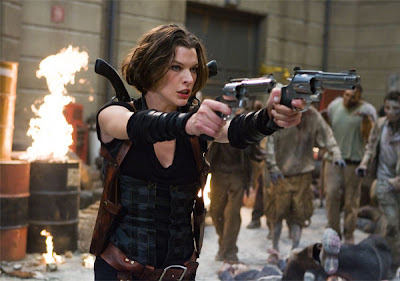 Resident Evil 4 Afterlife Ending leaked online - bootleg Resident Evil Afterlife After Credits scene