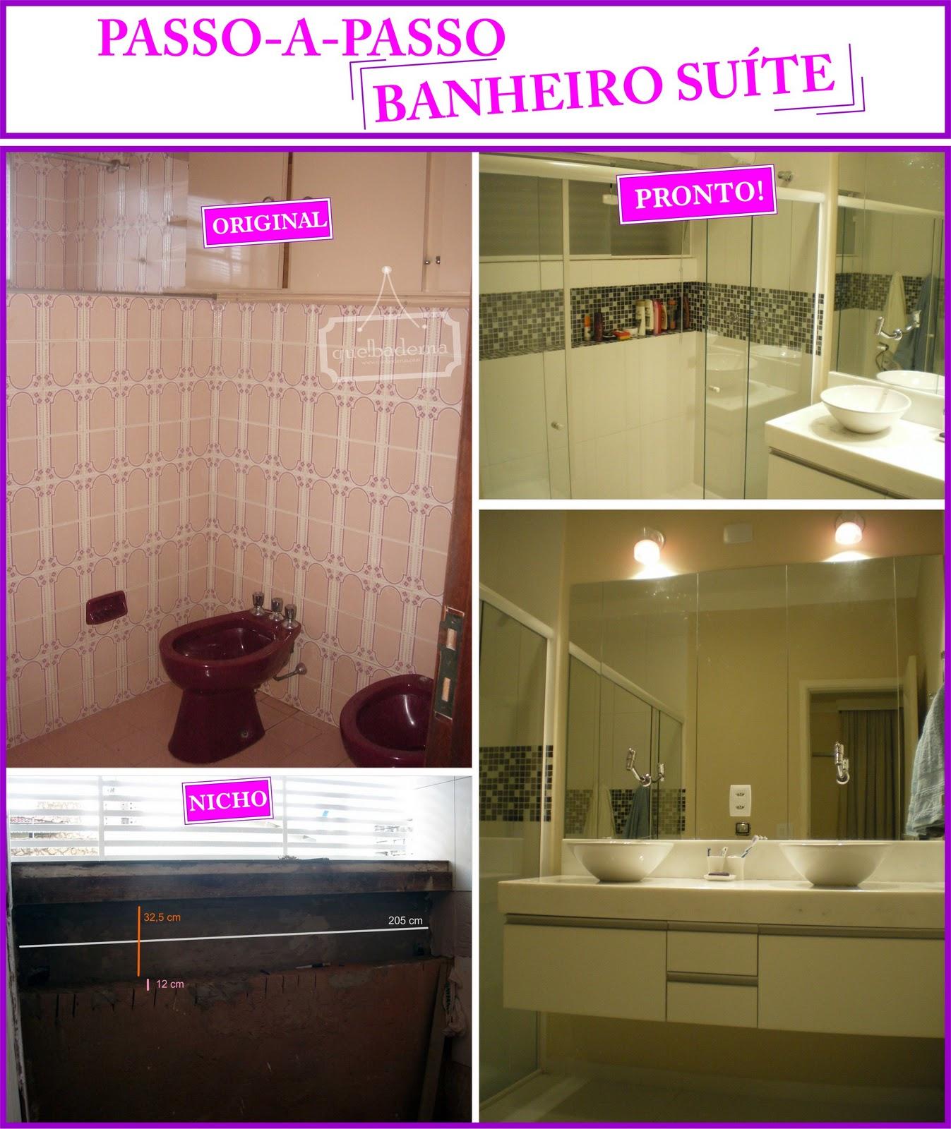 Banheiro da suíte – antes e depois #B60FBC 1347x1600 Banheiro Antes E Depois