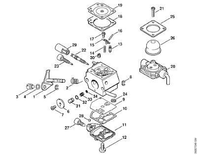 keihin small engine carburetor diagram