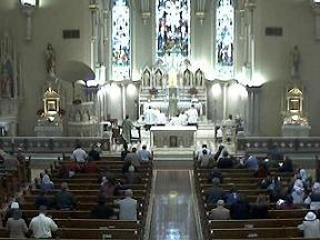 Click for Webcam - St. Martin of Tours, Louisville