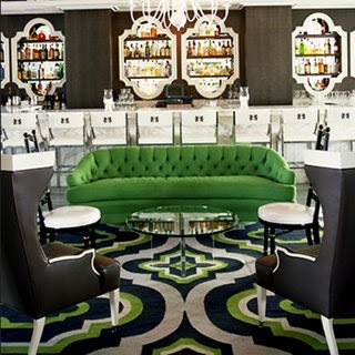 Adore cherie hollywood regency for Kelly green decor