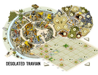 Travian Free online game browser