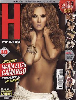 Maria Elisa Camargo arde en Revista H