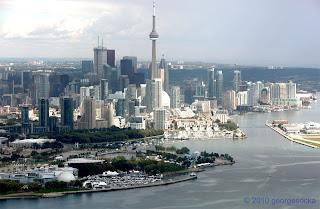 Toronto Skyline Aerial