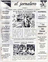 """Periodico """"El jornalero"""""""