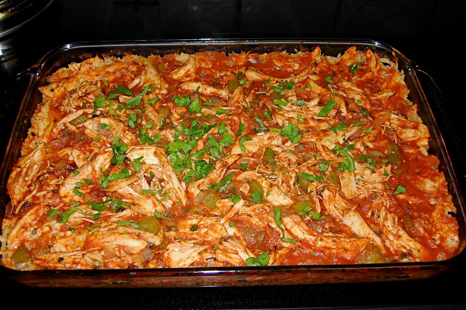 CFSCC presents: EAT THIS!: Paleo Chicken Enchilada Bake