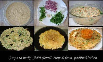 Adai step by step pictures