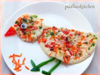 vegetable uhtappams