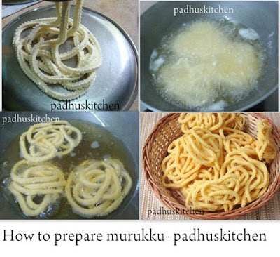 How to prepare murukku