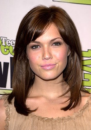 How to Get the Hot Middle Part Hairstyles Medium length haircuts for middle