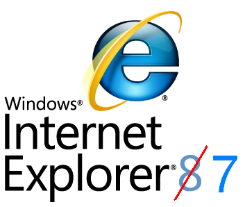 Uninstall IE8 and Rollback to IE7