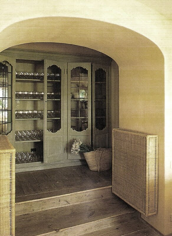 Beautiful Storage via Cote Sud Magazine, edited by lb for linenandlavender.net